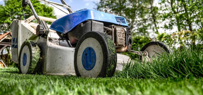 lawnmower gardening